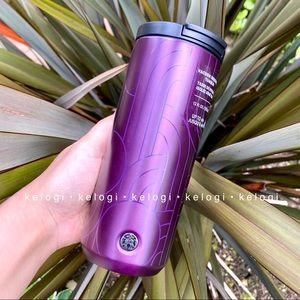 💜NEW💜Starbucks Fall 2020 Metallic Purple Tumbler